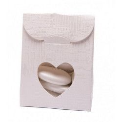 Sachet en carton blanc pour dragées x 10 8007402704170