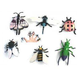 Marionnette insecte 5 cm pour le doigt vendue par 48 Jouets et kermesse 10150-LOT