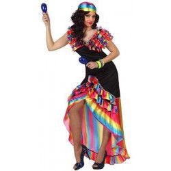 Déguisement de danseuse de Rumba taille M-L Déguisements 10199