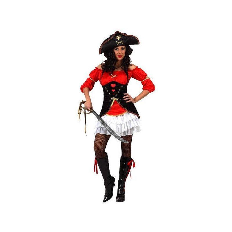 Déguisements, Déguisement Capitaine Pirate femme taille M/L, 10233, 29,90€