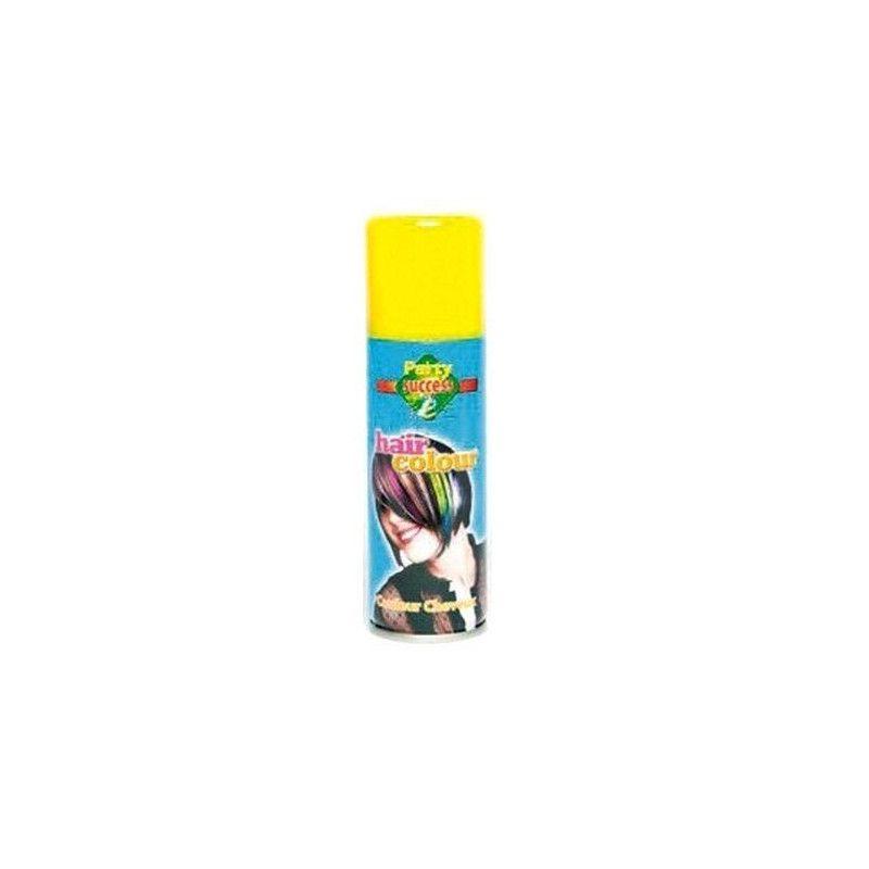Accessoires de fête, Bombe cheveux jaunes 125 ml, 102356, 1,90€