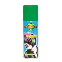 Bombe cheveux verts 125 ml Accessoires de fête 102358