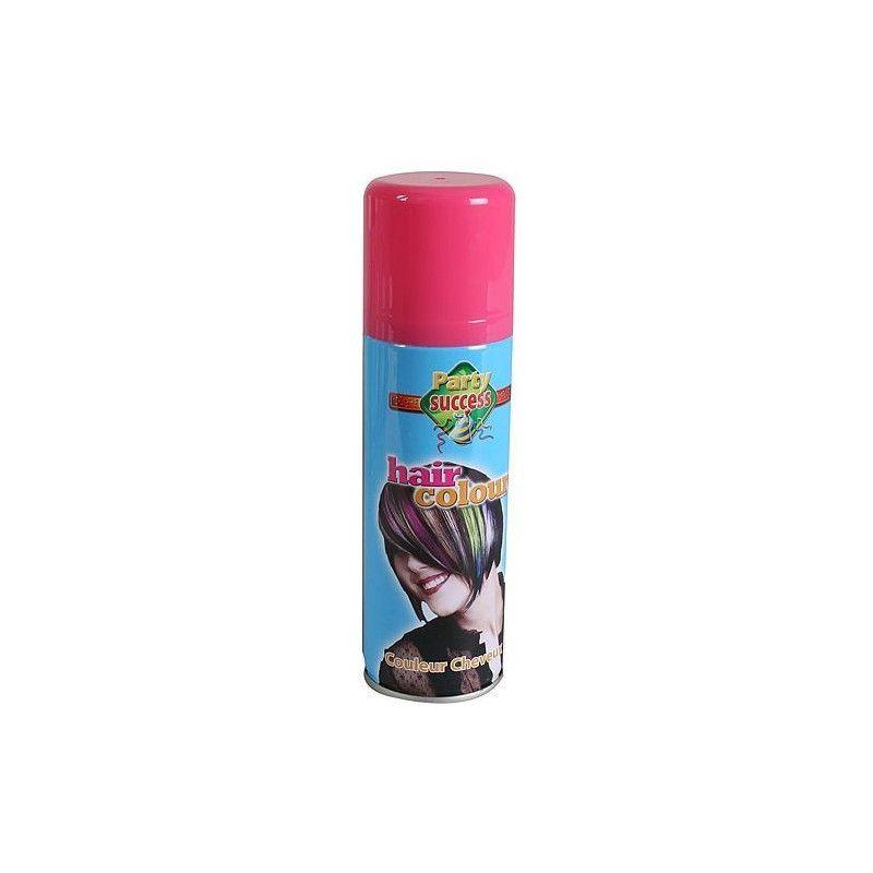 Accessoires de fête, Bombe cheveux roses 125 ml, 102361, 1,90€