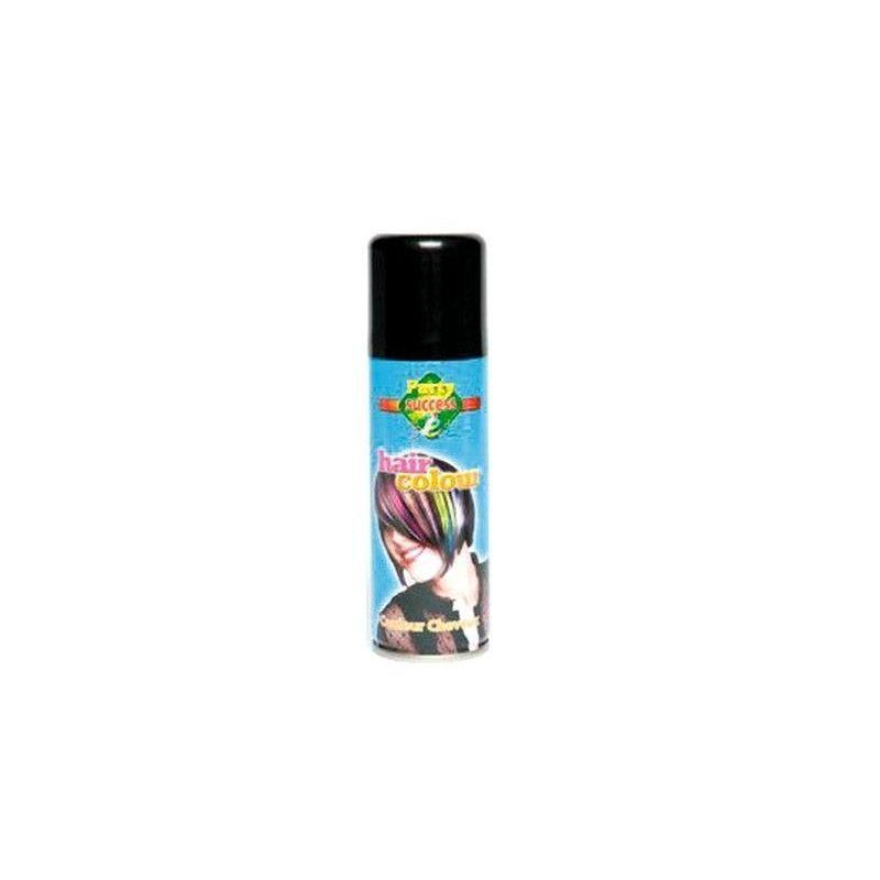 Accessoires de fête, Bombe cheveux noirs 125 ml, 102362, 1,90€