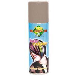 Bombe cheveux gris 125 ml Accessoires de fête 102366