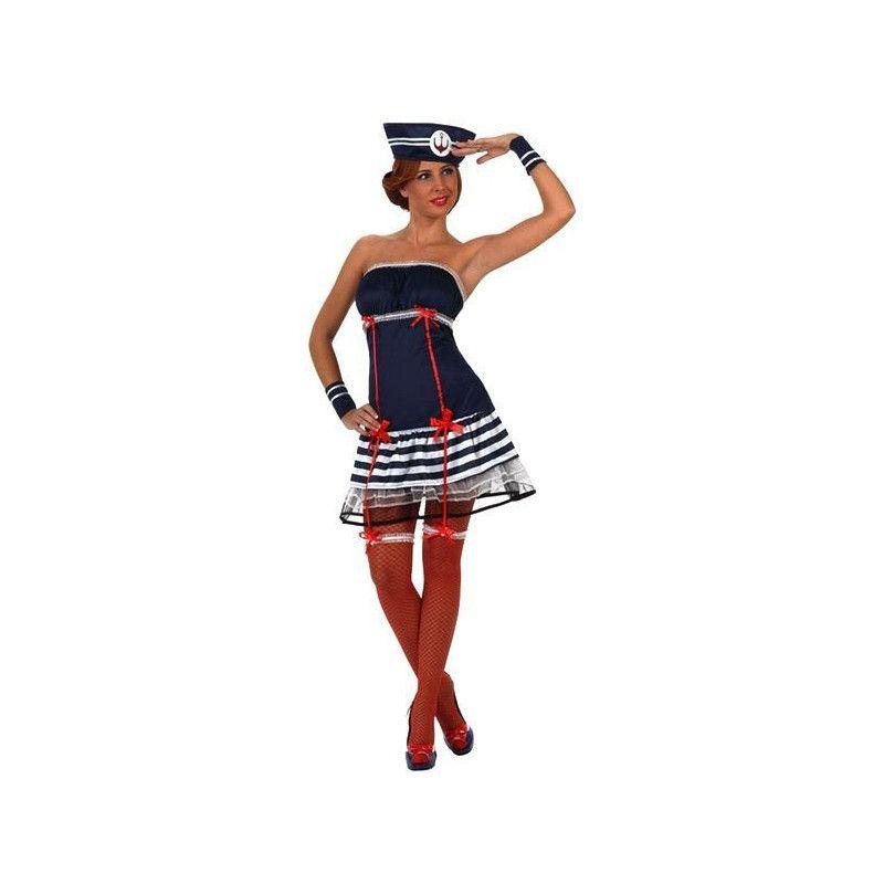Déguisement femme marin sexy taille M/L Déguisements 10263