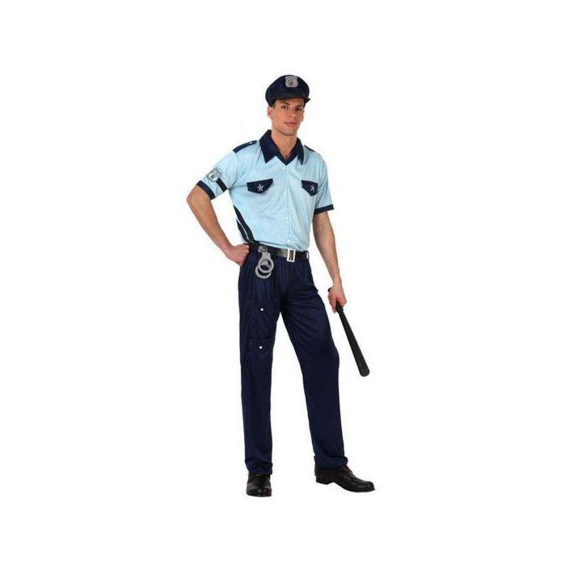 Déguisements, Déguisement policier homme taille S, 10273, 26,90€