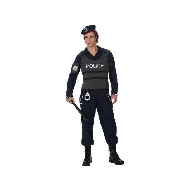 Déguisement policier adulte avec gilet pare-balles Déguisements 10280