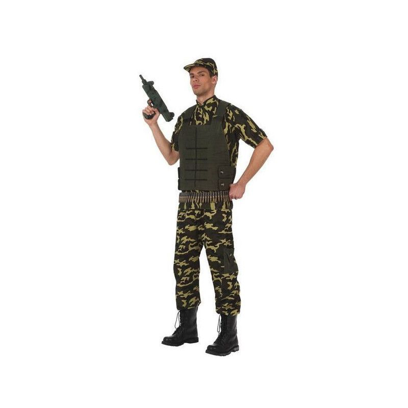Déguisement camouflage militaire homme M-L Déguisements 10304