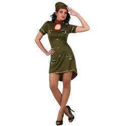 Déguisement militaire femme taille M-L Déguisements 10311