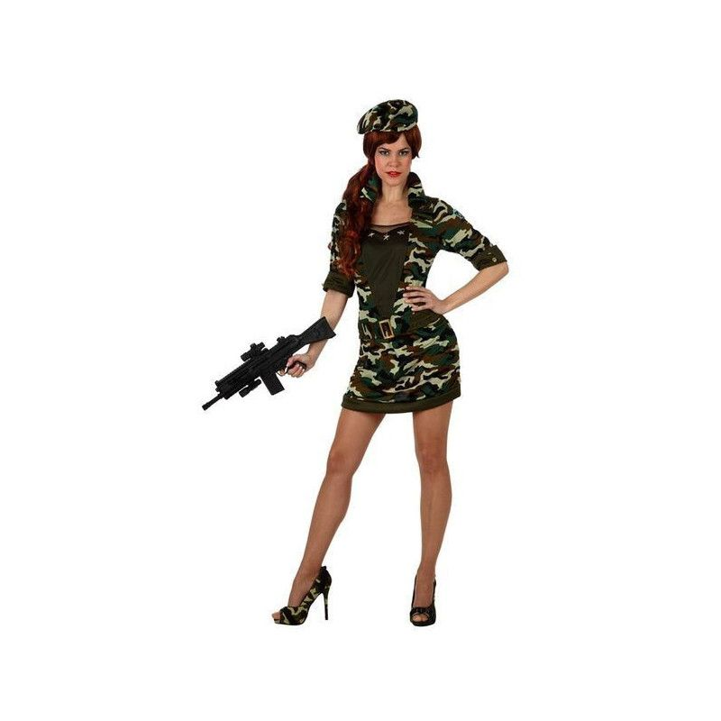 Déguisement militaire femme taille S Déguisements 10314