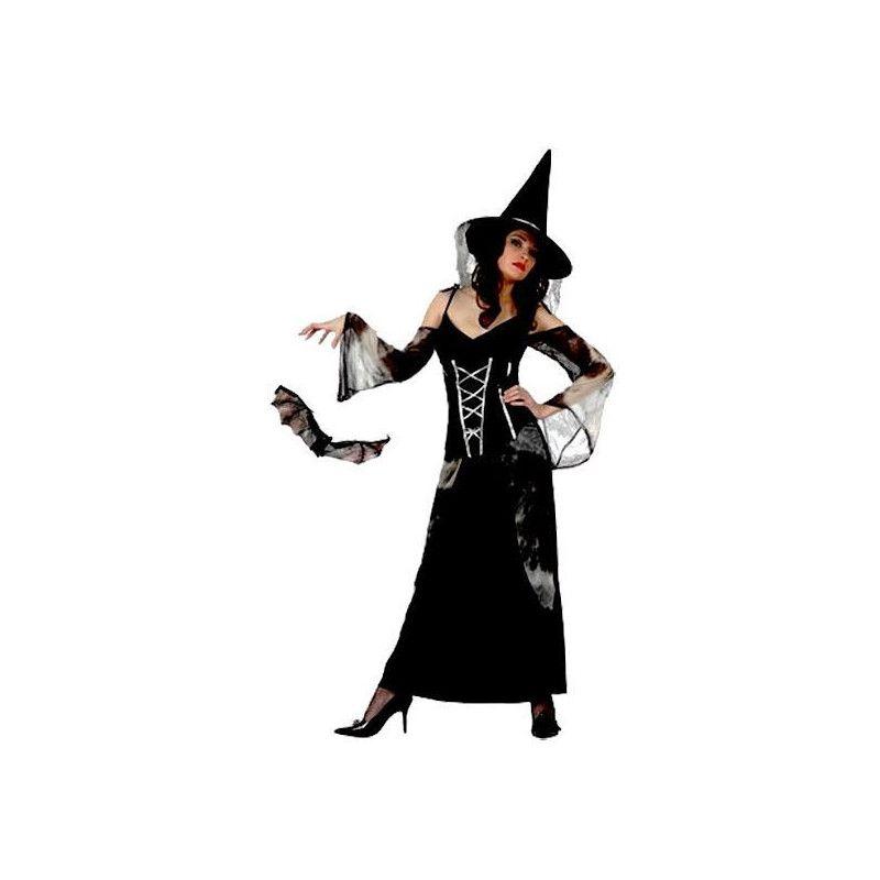 Déguisement de sorcière noire adulte XL Déguisements 10359