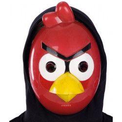 Masque plastique oiseau rouge Accessoires de fête 1037