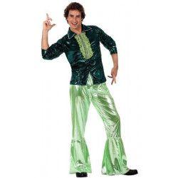 Déguisement disco vert homme M-L Déguisements 10388