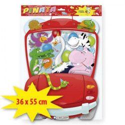 Pinata anniversaire animaux de la jungle Déco festive 1039