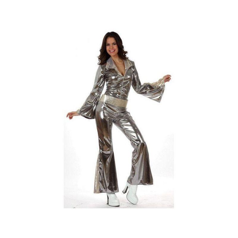 Déguisement disco gris femme XL Déguisements 10443