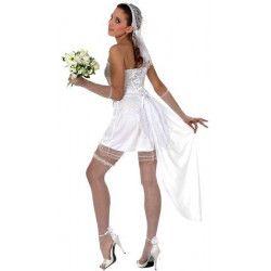Déguisement fiancée sexy femme taille M-L Déguisements 10541