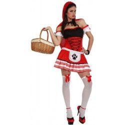 Déguisement Chaperon rouge sexy femme taille M/L Déguisements 10549