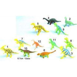 Animal dino 6 à 7 cm vendu par 48 Jouets et articles kermesse 10563-LOT