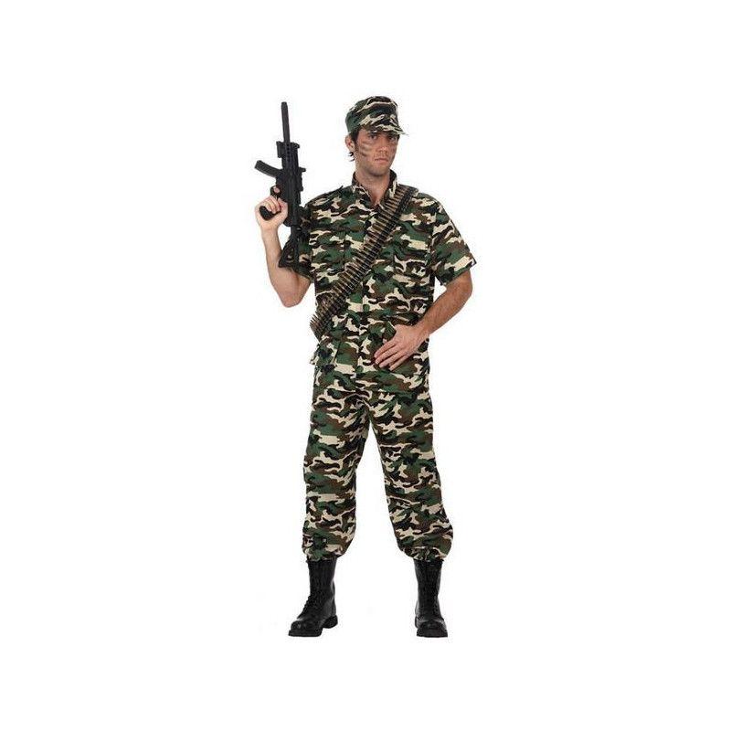 Déguisements, Déguisement soldat homme taille M-L, 10590, 34,50€