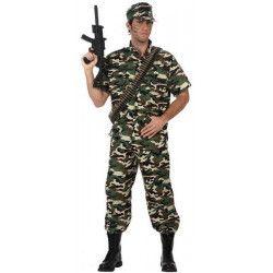 Déguisements, Déguisement soldat homme taille XL, 10591, 34,50€