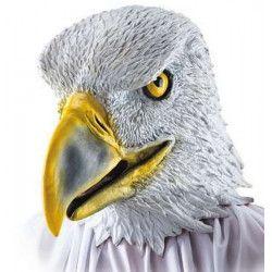 Masque d'aigle en latex Accessoires de fête 1077