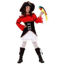 Déguisement pirate fille 3-4 ans Déguisements 10907