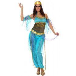 Déguisement danseuse orientale bleue femme XL Déguisements 10070