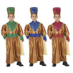 Déguisements, Deguisement page avec bonnet enfant 3-4 ans, 98434, 16,90€