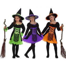 Déguisement petite sorcière enfant 7-9 ans Déguisements 5261