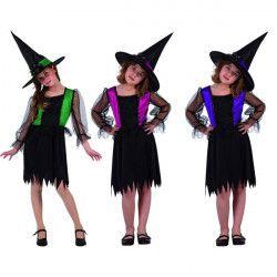 Déguisement sorcière avec gilet fille 7-9 ans Déguisements 5451
