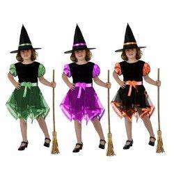 Déguisements, Déguisement petite sorcière fille 10-12 ans, 70039, 14,90€