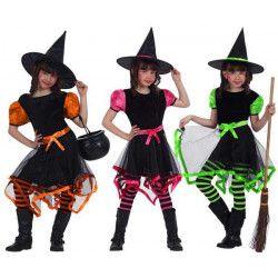 Déguisement sorcière fille 7-9 ans Déguisements 70037