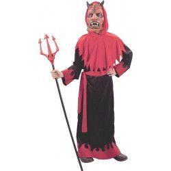 Déguisements, Déguisement diable rouge et noir garçon, 88744, 19,50€