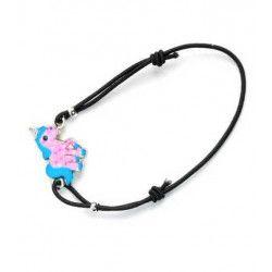 Bijou bracelet licorne vendu par 12 Bijoux-Diadèmes-Parures-écharpes 32763-LOT