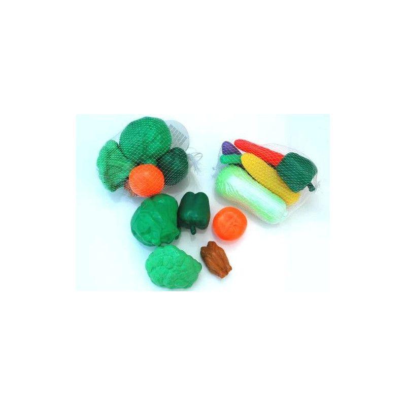 Légumes en plastique Jouets et articles kermesse 60973