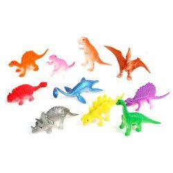 Animal dinosaure plastique vendu par48 Jouets et kermesse 10365-LOT