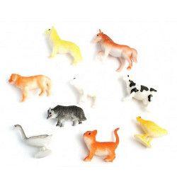 Animal de la ferme plastique vendu par 48 Jouets et articles kermesse 10464-LOT