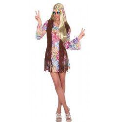 Déguisement hippie adulte taille M/L Déguisements 16363