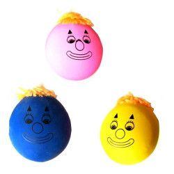 Balle farine visage antistress vendue par 12 Jouets et kermesse 11584-LOT