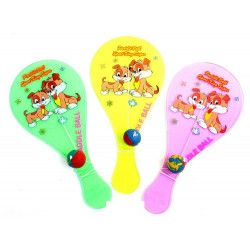 Jouets et kermesse, Paddle ball fluo 18 cm vendu par 40, 23860-LOT, 0,47€