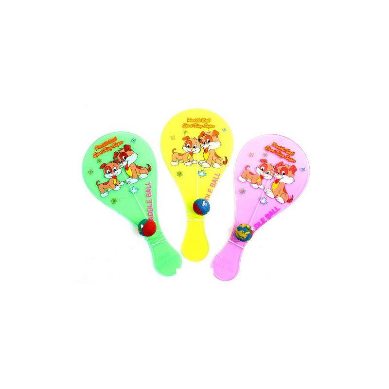 Paddle ball fluo 18 cm vendu par 40 Jouets et articles kermesse 23860-LOT