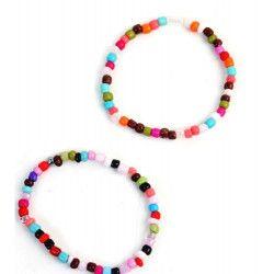 Sachet de 2 bracelets vendu par 48 Jouets et kermesse 32091-LOT