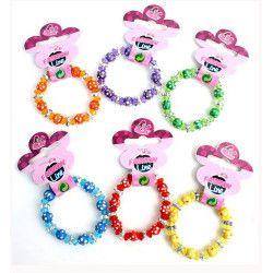 Bracelet perles colorées kermesse vendu par 48 Jouets et kermesse 32312-LOT