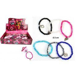 Bijou bracelet charme irisé vendu par 36 Jouets et kermesse 32510-LOT
