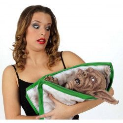 Marionnette Bébé monstre zombie 45 cm Déco festive 16411