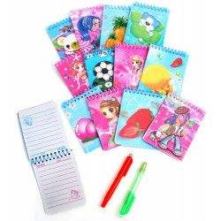Jouets et kermesse, Lot 48 carnets et stylos 8.5 x 7 cm, 39564-LOT, 0,26€