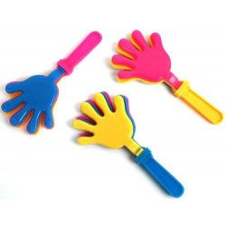 Clap main 9.5 cm kermesse vendu par 48 Jouets et articles kermesse 36044-LOT