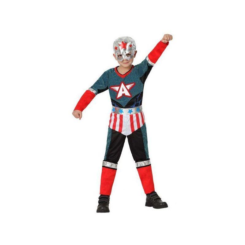Déguisements, Déguisement super héro garçon 4-6 ans, 16455, 19,90€