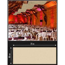 Tenture de décoration 25 m Déco festive 1102-